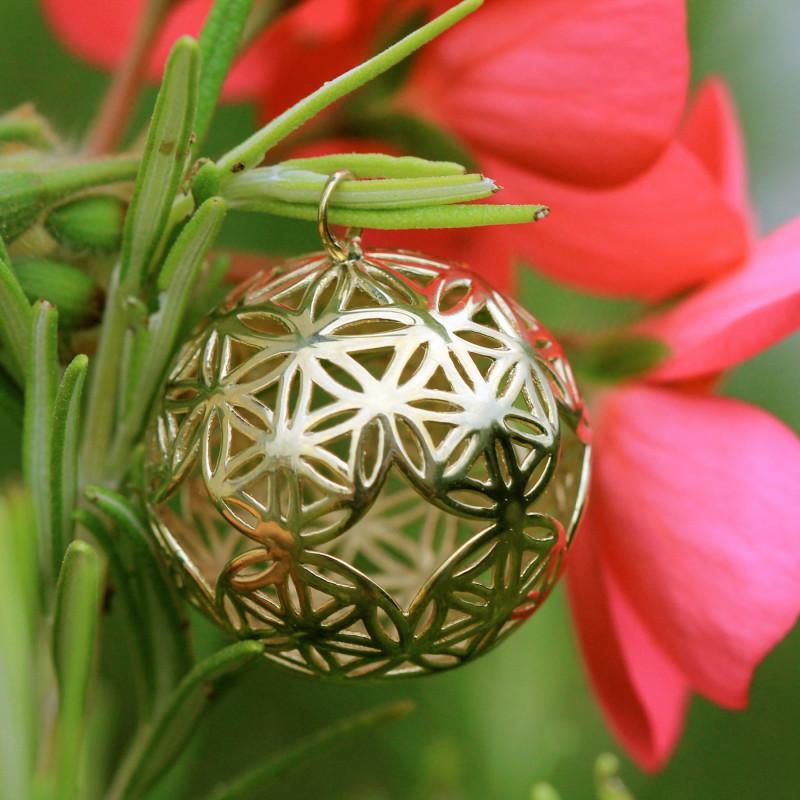 Médaillon en or - Sphère de Vie
