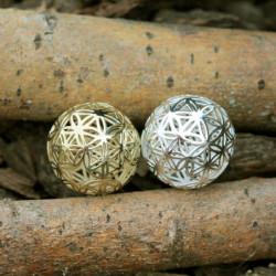 Médaillon en or & médaillon en argent - Sphère de Vie