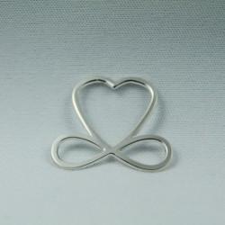Médaillon simple - Coeur de...
