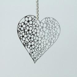 Médaillon simple - Bijoux Alour - Coeur de la joie