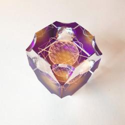 Cube de Métatron violet